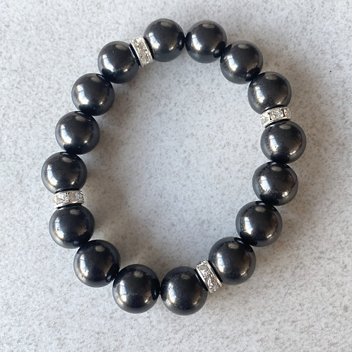 Designer Bracelet - 12mm beads - approx. 20.4cm