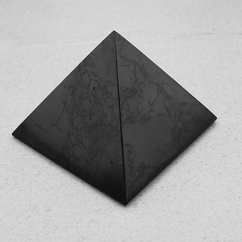 Polished Shungite Pyramid 100mm