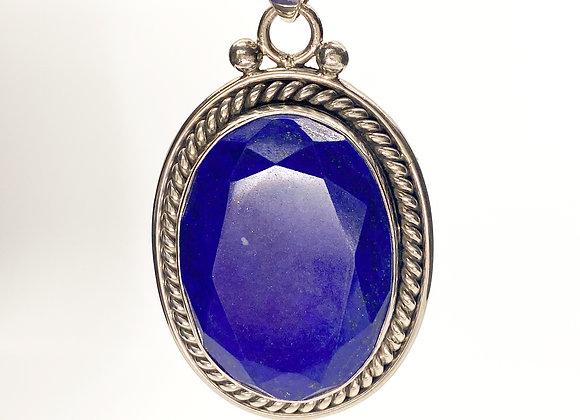 Lapis Lazuli Oval Pendant