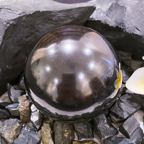 Polished Shungite Sphere 80mm