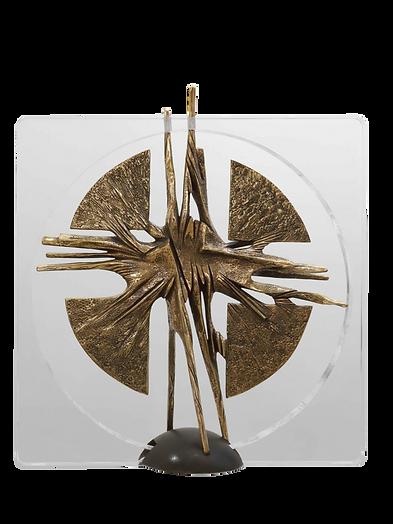 Bronzo metacrilato - 2007 - 100 x 100 cm