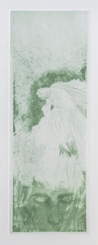 senza titolo 3, 49.2x17.7 cm, incisione