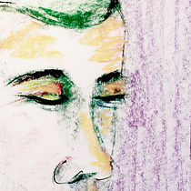 Purple Fred, drawing