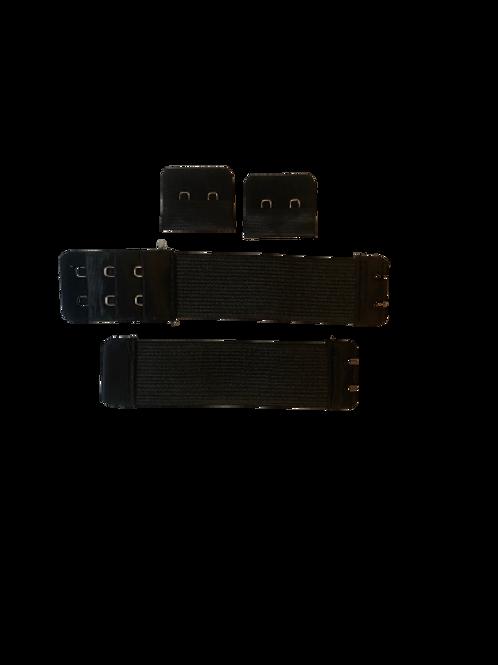 Black Adjustable Elastic Band