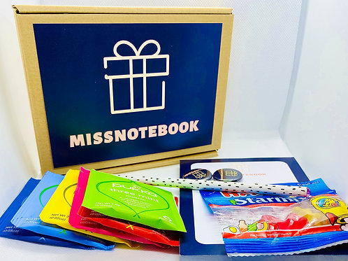 'Missnotebook' Gift Box - A6