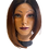 Thumbnail: Synthetic Lace Wigs - Black to Brown Ombre