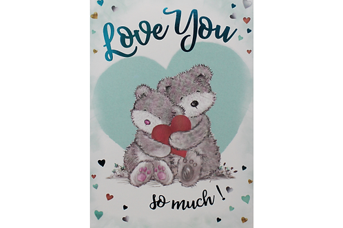 'Love You So Much' Card
