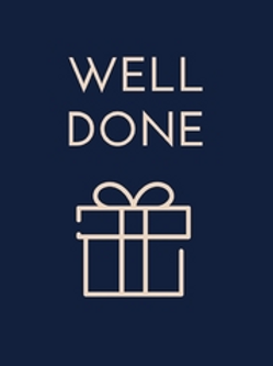 'Well Done' Card