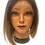Thumbnail: Synthetic Lace Wigs - Black to Ash Blonde/Brown Ombre