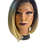 Thumbnail: Synthetic Lace Wigs - Black to Blonde Ombre