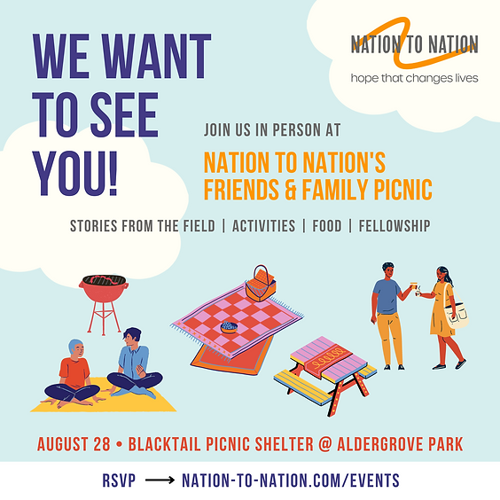Nation to Nation's Friends & Family Picnic