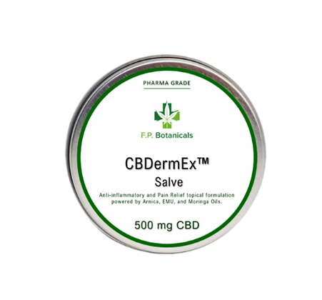 CBDermEx Salve - 500 mg CBD