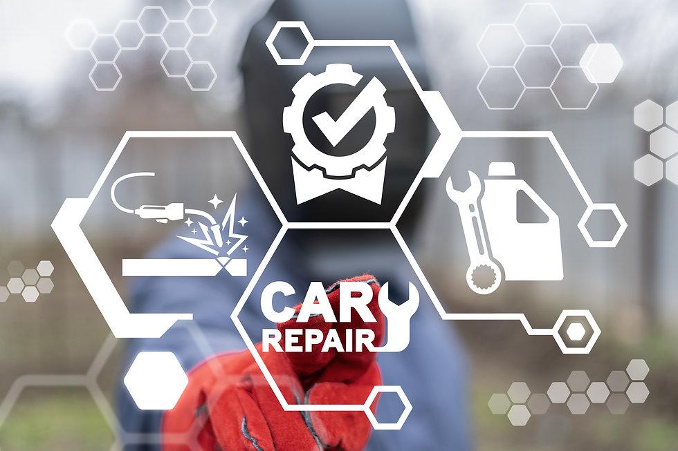 Car Repair Concept. Auto Service. Automo