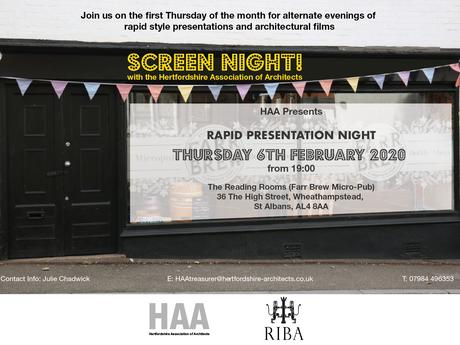 Screen Night 6th February