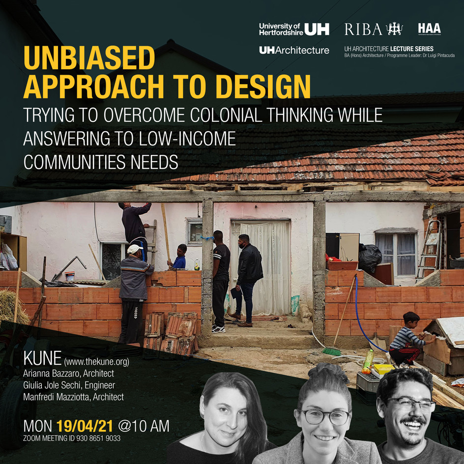 UH Lecture Series - Unbiased Approach to Design