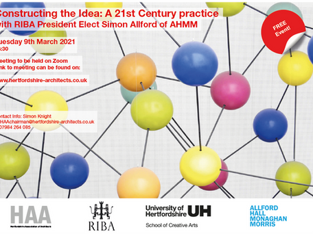 Join us for Constructing the Idea with Simon Allford