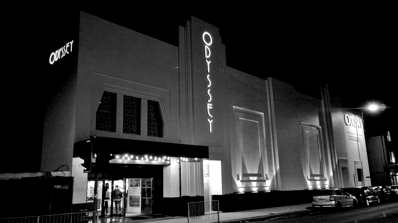 EHW Lts, The Odyssey Cinema