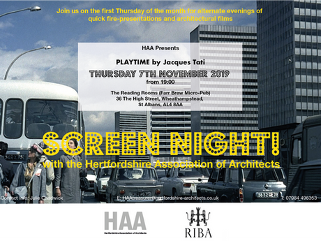 Next screen Night 7th November
