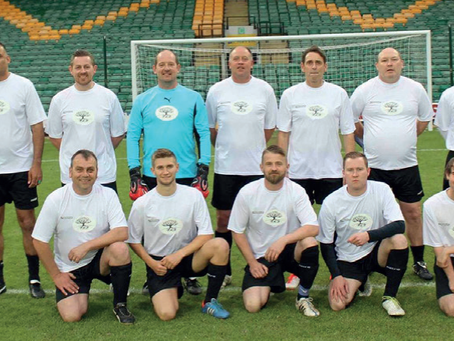 Viva Sponsors Charity Football Team