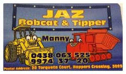 Jaz Bobcat & Tipper Hire