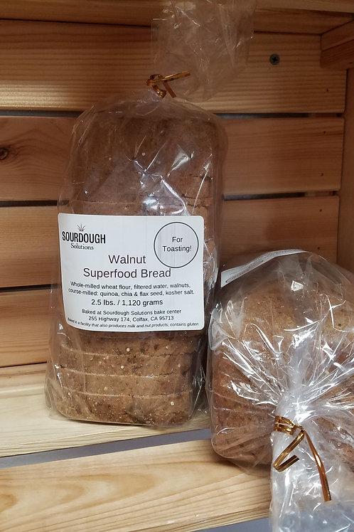 Walnut Superfood Bread (2.5 lbs. / 1120 gms)