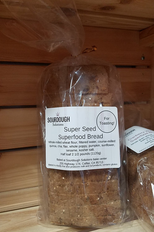 Super Seed Superfood Bread (2.5 lbs. / 1120 gms)