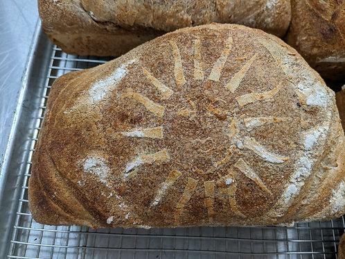 Sierra Sourdough All Purpose Whole Wheat Sourdough Bread (2 lbs / 912 gms)