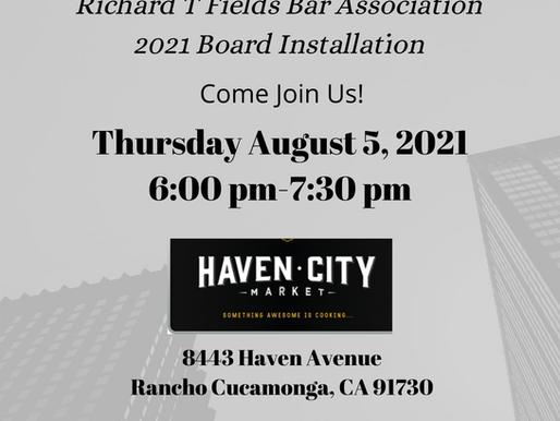 2021 Board Installation