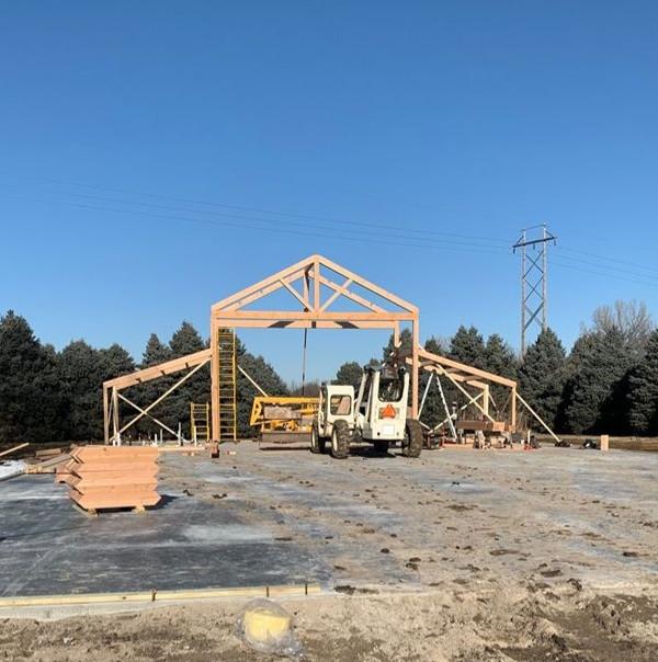 New Barn Construction