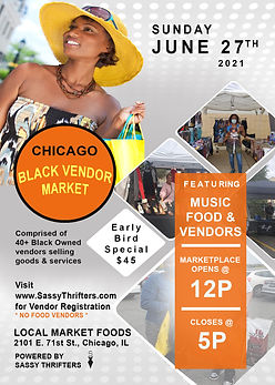 Sassy Thrifters Fleek Market - June 2021
