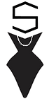 Sassy Thrifters Logo - Transparent bkgrn