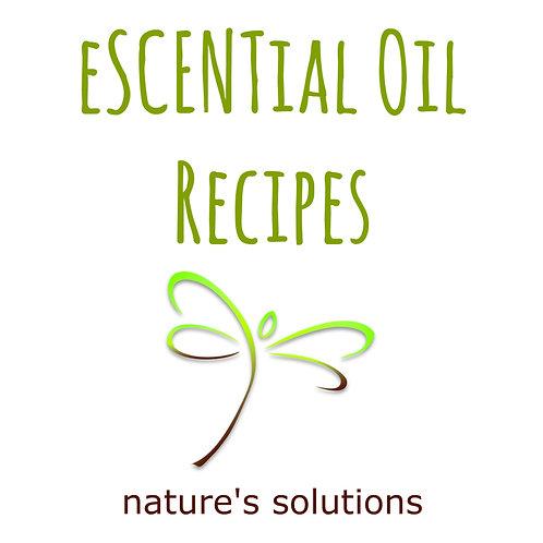 eSCENTial Oil Recipes