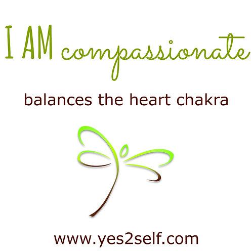 I AM compassionate
