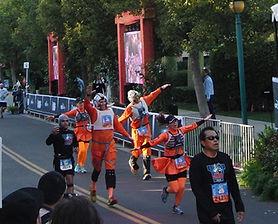 runDisney marathon participants Star Wars x-wing pilots