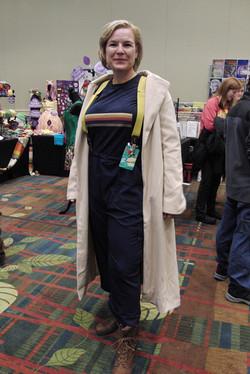 Cedar Rapids Comic Con 2018 13th Doctor Cosplay_800