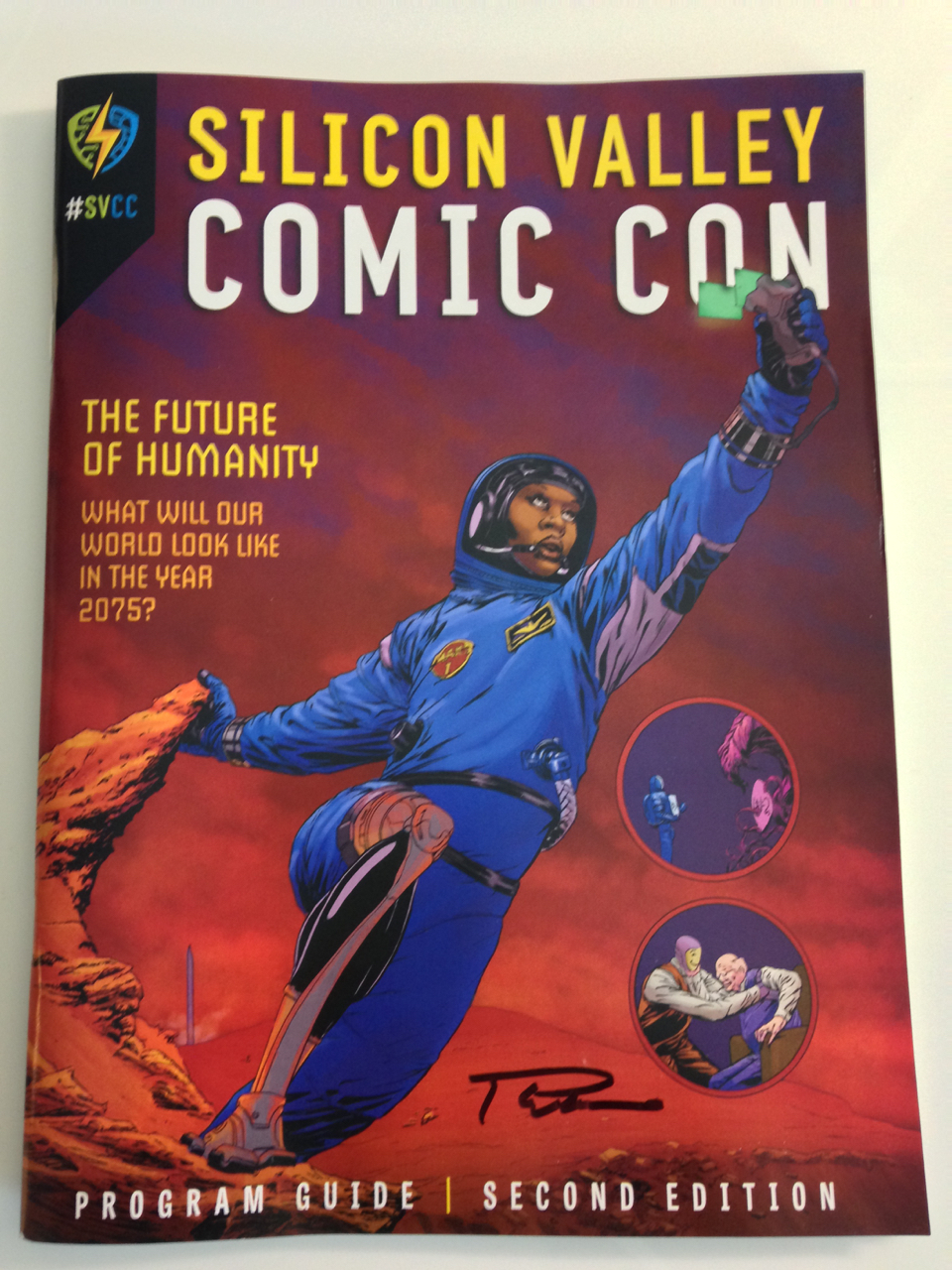 Silicon Valley Comic Con 2017_program autographed_800