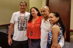 HawaiiCon 2017 Dr. Keao NeSmith, Dr. Stephanie Slater, Tem Morrison, G.K. Bowes_800