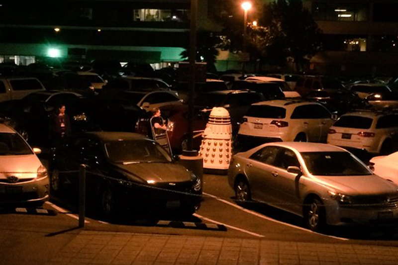 Gallifrey One 2016 Dalek in the parking lot.jpg
