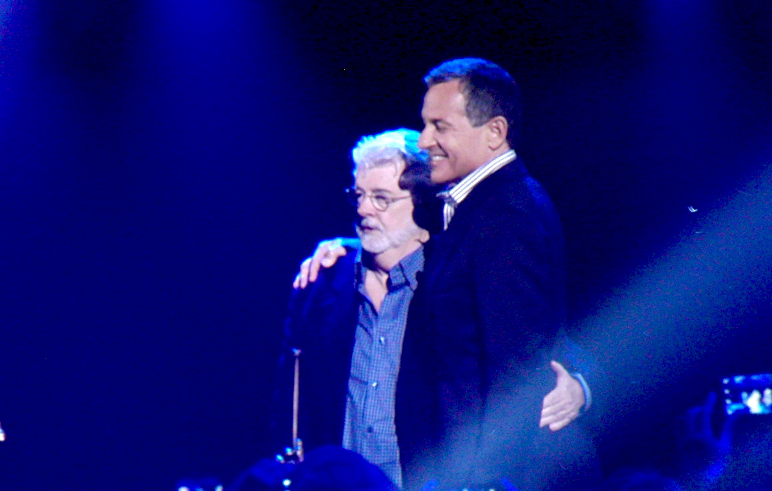 D23 EXPO 2015 George Lucas and Bob Iger_1200.jpg