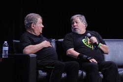 Silicon Valley Comic Con 2017_William Shatner & Steve Wozniak_800