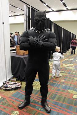 Cedar Rapids Comic Con 2018 Black Panther_800