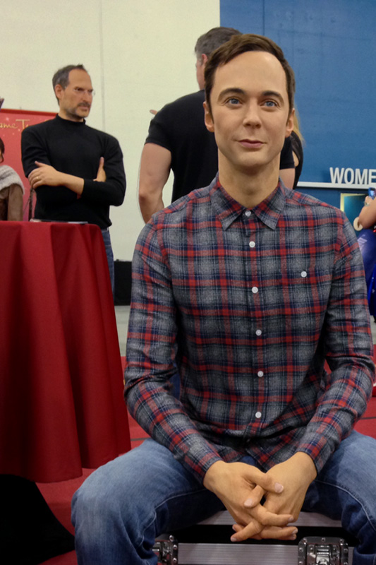 Silicon Valley Comic Con 2016 Madame Tussauds Sheldon in wax_800.jpg