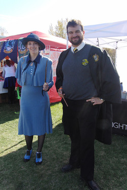 Harry Potter Festival 2017 Fleur and Bill cosplay_800