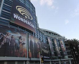 WonderCon exterior signage