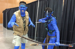Phoenix Comicon 2015 Avatar cosplay_800.jpg