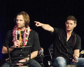 Padalecki and Jensen Ackles at Supernatural Convention in Honolulu
