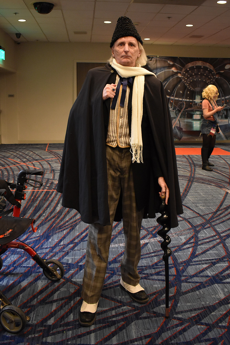 Gallifrey One 2020 First Doctor Cosplay_