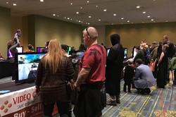 Cedar Rapids Comic Con 2018 Video game room_800