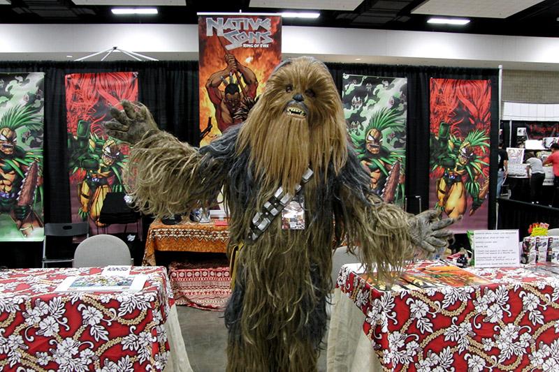 Amazing! Hawaii Comic Con 2016 Wookie_800.jpg