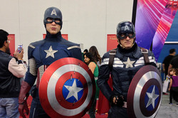 Silicon Valley Comic Con 2016 Madame Tussauds Captain America wax and cosplay_PSE_800.jpg